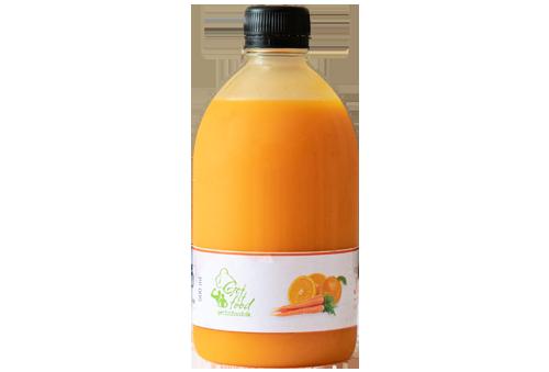Friskpresset juice appelsin & gulerod