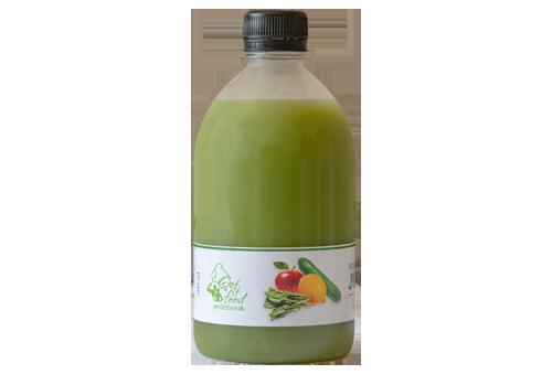 Friskpresset juice grøn multi, æble, agurk, citron & spinat