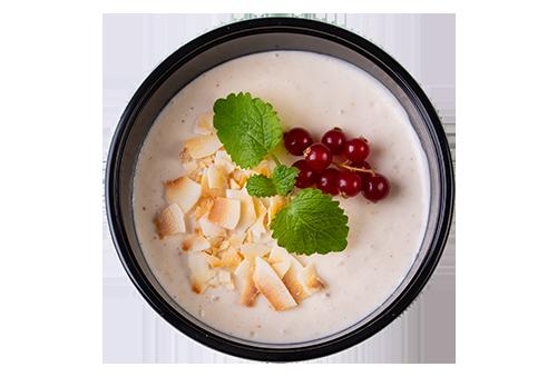 Karamel/kokos/peanut mousse
