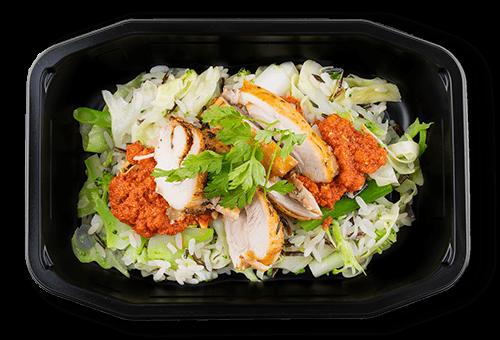 Kylling i rød pesto