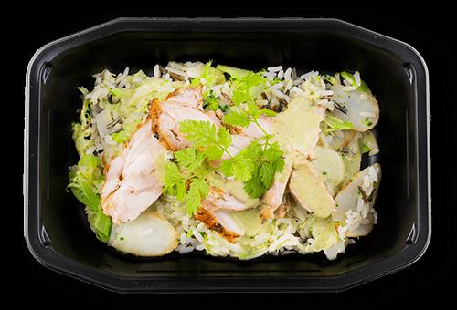 Kylling i grøn thai karry