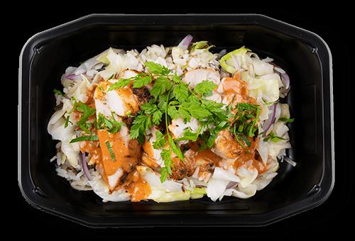 Stegt kylling i tandoori sauce