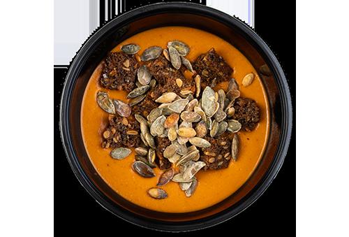 Vegansk tomat/linse suppe