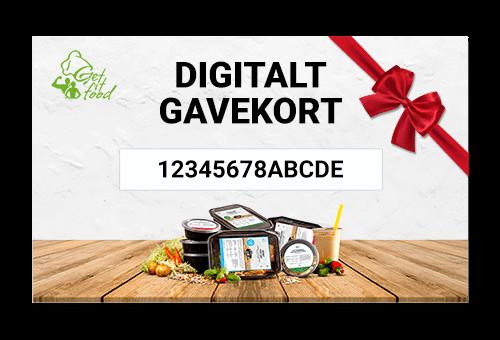 Getfitfood Digitalt Gavekort